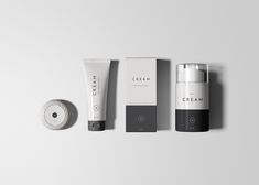 Essential cosmetics packaging set which includes a tube, sample soap, box package, and a foam dispenser. A set which is great to present your cosmetics Product Label, Product Launch, Product Mockup, Cosmetics Mockup, 5 Logo, Circular Logo, Cosmetic Packaging, Skincare Packaging, Cosmetic Box
