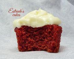 Estrade's cakes: receta de cupcakes red velvet