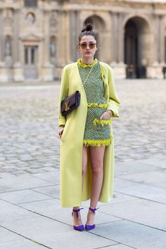 Monochromatic Moment: Make A Bold Color Statement  - HarpersBAZAAR.com  (THIS is such an amazing look)