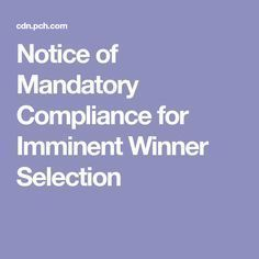 Notice of Mandatory Compliance for Imminent Winner Selection I Brenda Avery want to claim and have ownership of this prize. I'm in it to win it all. Instant Win Sweepstakes, Online Sweepstakes, Win For Life, Forever Life, Winner Announcement, Publisher Clearing House, Winning Numbers, Thing 1, Win Prizes
