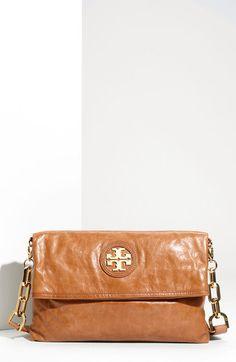 City Foldover Messenger Bag