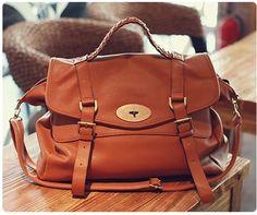 Neu Braun PU-leder Handtasche Umhängetasche Vintage Büro Uni Schule Tragetasche | eBay