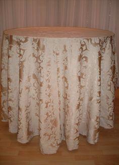 Gold Brocade linen