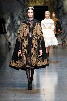 Dolce & Gabbana Women's Fashion: Baroque Romanticism - Fall Winter 2013 Women's Fashion | TwistedLifestyle.com