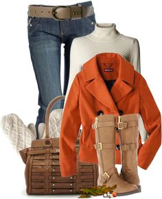 """""""Cold Day"""" outfit   by johnna-cameron ❤ liked on Polyvore"""