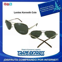 Que te parece estar a la moda con estos lentes de la prestigiosa marca Kenneth Cole. TransExpress compras en internet en El Salvador. Costo aprox $50.39 http://amzn.com/B008PDJ6OK