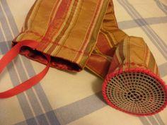 Skate Wheel Bag by DerbyBella on Etsy, $7.50