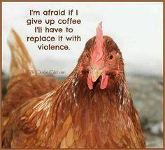 I'm afraid...