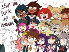 This is literally the entirety of Danganronpa 2.