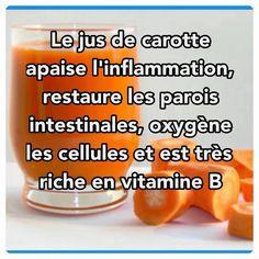 Le jus de carotte, c'est bon pour quoi ? En cas de diarrhée ou de gastro entérite, buvez du jus de carottes, à petites gorgées. ...