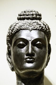 Head of Buddha ARTIST:Artist Unknown, Indian The Minneapolis Institute of Arts Buddha Figures, Religious Icons, Buddhist Art, Ancient History, Asian Art, Buddhism, Archaeology, Abstract Art, Sculpture