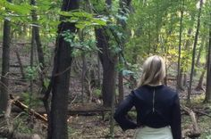 Fall 2014 Collection - Behind The Scenes. A forest photo shoot.