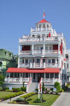 Cape May Victorian on Beach Street  http://capemayresort.com/