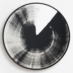 Claudia Comte Turn and Slip 71 cm dark 2016