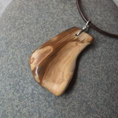 Petrified Wood jewelry large chunky organic by NaturesArtMelbourne,