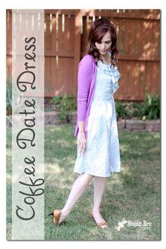 Sugar Bee Crafts: Coffee Date Dress