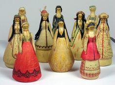 Vintage Russian dolls $350