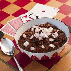 "Chocolate Chili - ""This recipe combines one of your favorite comfort foods with unsweetened cocoa powder in a savory clean-eating dish that you'll love!"""