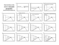 one=point perspective worksheets - Bing Images