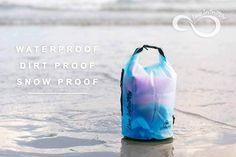 Storage Bag Drawstring Nylon Waterproof Dustproof Pouch For Outdoor Beach T V5V6