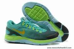 huge discount d0ad8 41376 Sale Cheap Grey Green Blue Glow Yellow Mens Nike LunarGlide 4 Your Best  Choice