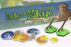 Additional accessories for Isle of Skye board game