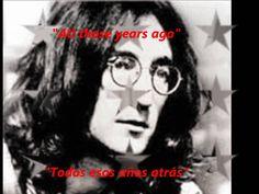 """George Harrison - All those years ago  (esp-ing) Poco después de la muerte de Jonh Lennon; George Harrison modificó la letra de """"All Those Years Ago"""", canción que había compuesto en un principio para Ringo y que posteriormente sirvió de tributo a Lennon en su álbum Somewhere in England. Con Ringo Starr en la batería"""