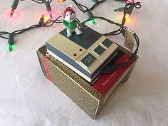 Santas Answering Machine Magic Hallmark Ornament Sound Light Christmas Mouse 92