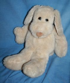 "Dakin Le Mutt Dog 1980 vtg soft toy Plush Stuffed Brown eye Hoerlein Korea 16""  #Dakin"