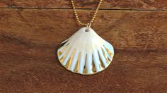 Porcelain jewelry, beach necklace, mermaid necklace, porcelain necklace, shell necklaces, pedant necklace, ocean necklace, nautical necklace