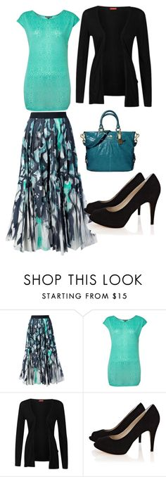 """Untitled #116"" by jessdecius ❤ liked on Polyvore featuring Tsumori Chisato, Biba, Influence and Karen Millen"