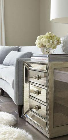 Mirror wardrobe drawers Dresser