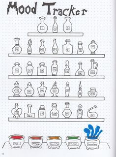 Mood Tracker for your bullet journal. - Mood Tracker for your bullet journal. - Mood Tracker for your bullet journal. - Mood Tracker for your bullet journal. Bullet Journal Tracker, Bullet Journal 2019, Bullet Journal Notebook, Bullet Journal Inspo, Bullet Journal Ideas Pages, Bullet Journal Layout, Bullet Journal Harry Potter, Bellet Journal, Theme Harry Potter