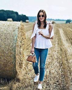 Style Appetite x HM Feature  -  #volanttop #volant #volants #jeans #summer #festival #jeans #hm #hmfeature #hmlook