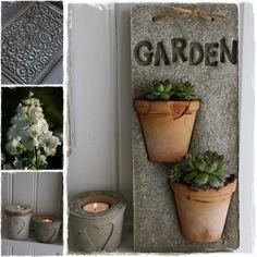 betong, trädgård, inredning & mycket annat