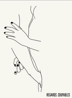 Regards Coupables erotic illustrations