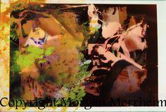 Dessin sur Oeuvre Numérique Femme Lingerie Morgan Merrheim Art Brut Singulier