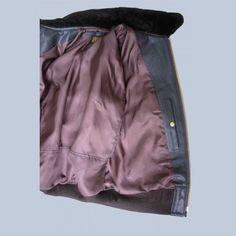 G1 Flight jacket Inside map pocket and lining   FlightJacket.com