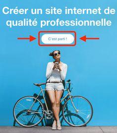 CREER VOTRE SITE INTERNET GRATUITEMENT AVEC #WIX. #Webmarketing #MarketingDigital #website Creer Un Site Web, Digital Marketing