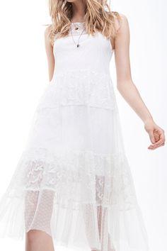 Pretty white dress <3! -- Zara Lookbook TRF March 2012