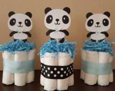 2 gâteaux de couches mini Mickey Mouse pièce par diapercake4less