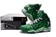 best website c2e01 bf4c5 Men s Under Armour UA Micro G Anatomix Spawn II Basketball Shoes Green   1709UNDERARM-5  -  79.00. LaichenBasketballschuhe