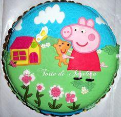 Emozioni in torte- Le torte di Angelica: Peppa Pig