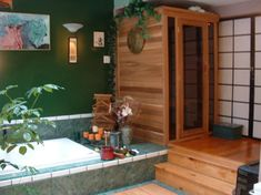 Yes, please... I'd like a sauna in my bathroom. :)