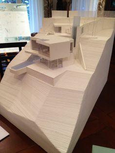 "Maqueta del proyecto ""Raphsody in blue"" · Raphsody in blue´s model #architecture #arquitectura #competition #concurso #calpe #alicante #project #proyecto #architect #arquitecto #luxurious #maqueta #model"