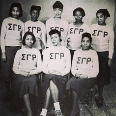 Sigma Gamma Rho vintage photo