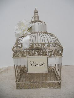 Wedding Card Box / Birdcage Wedding Card Holder