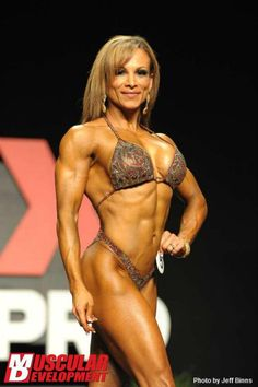 Adela Garcia gets first place in the 2012 Flex Pro, at age 41.