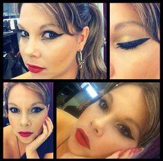 A @fabianeamorim, do Beauty Team da NYX Belém, abalou geral com esse delineado super diferente