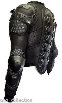 Body Armour Motorcycle Motorbike Motocross spine Protector Guard Bionic Jacket in Vehicle Parts & Accessories, Clothing, Helmets & Protection, Motocross & Off Road Clothing   eBay